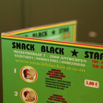Snack Black Star - Menu